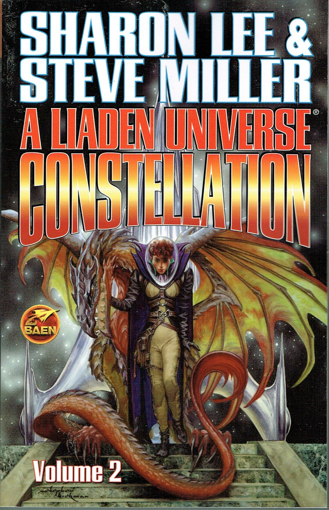 A Liaden Universe(R) Constellation, Volume Two. On sale January 4, 2014.  Art by Stephen Hickman