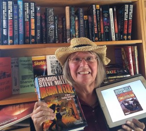 Kathy Ferrando: Getting ready for SasQuan with my Liaden Library