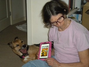 Vicky Ayech:  Reading Dragon in Exile to Molly.