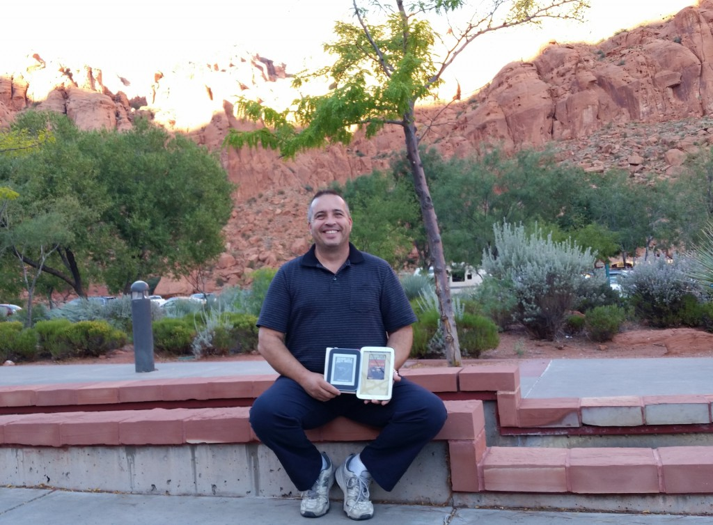 Lucian Stacy: Taken at the Tuacahn Amphitheater, waiting to see Beauty and the Beast.
