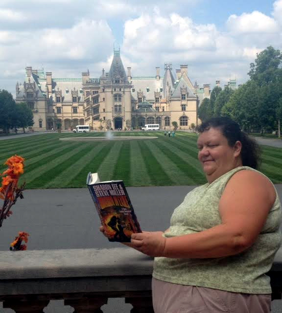 Susan Hrizuk: At Biltmore Estate, America's castle, in Asheville, North Carolina, the largest privately owned house in the United States.